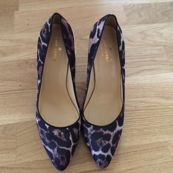 e14a62fdc345 kate spade Shoes - Kate spade leopard heels