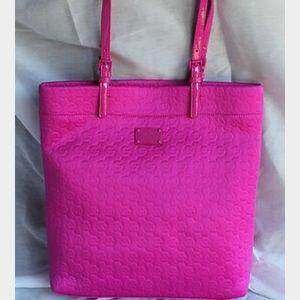 604509e6ec Michael Kors Bags - Michael Kors hot pink neoprene tote