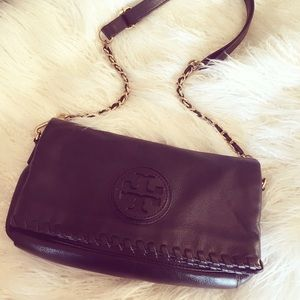 Tory Burch Marion Foldover Messenger
