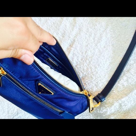 prada tessuto saffiano shoulder bag f7005234e7113