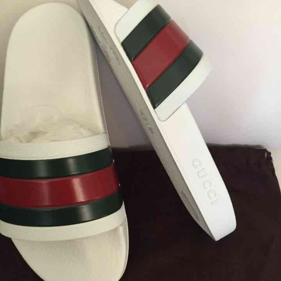 38 Off Gucci Other Gucci Rubber Slides Mens Sz 6 From