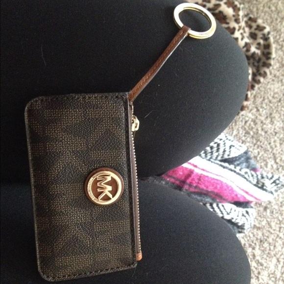MICHAEL Michael Kors Bags   Michael Kors Mini Keychain Wallet   Poshmark db885c186f