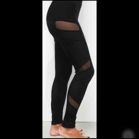 21% off Electric Yoga Pants - Electric Mesh Yoga leggings. from ...