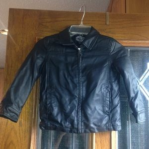 First Wave Other - Black Leather Boys Jacket