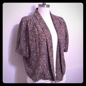 Hinge Tops - Hinge Short Sleeve Jacket