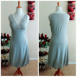 ⬇Heather Gray T-Shirt Bubble Dress NWOT
