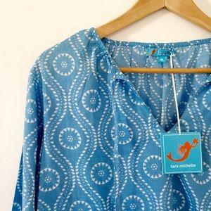 NWT Tara Michelle blouse