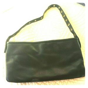 GAP leather lil black bag