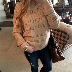 50% OFF SALE! Neutral Sweater!
