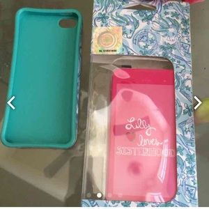 Lilly Pulitzer Accessories - FREE Lilly Pulitzer iPhone  5 cover