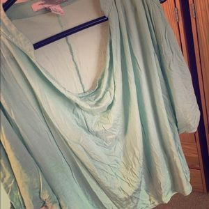 Mint Green Shirt