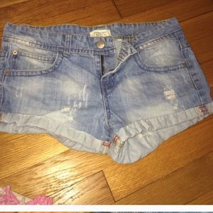 Forever21 Distressed Shorts