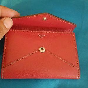 Cartier Handbags - Cartier card holder authentic