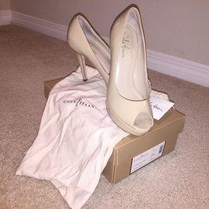 "Cole Haan Shoes - Cole Haan ""Air Mariela"" sexy beige pumps"