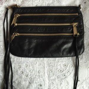 Rebecca Minkoff Black 3 Zip Clutch