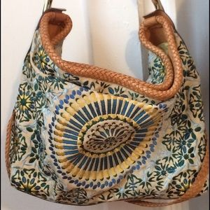 Cole Haan Handbags - Cole Hann Embroidered large hobo