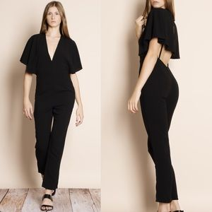 "Bare Anthology Pants - 1DAYSALE ""Albatross"" Cape Backless Jumpsuit"