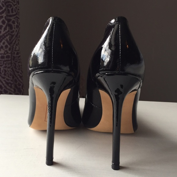 Coach Faye Patent Leather Shoes