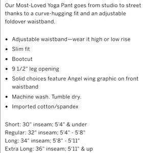 215efdcf0a5aeb Victoria's Secret Pants | Victorias Secret Yoga Short Length | Poshmark