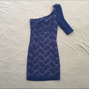 Mystic Dresses & Skirts - Last Chance❗️Lace One-Shoulder Dress