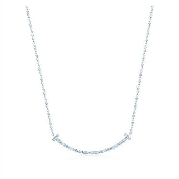 da07c6f3e Tiffany & Co. Jewelry   Tiffany T Smile Pendant   Poshmark