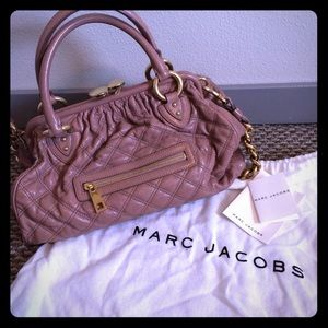 Patent leather pink blush Marc Jacobs Stam