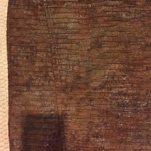 Zara Skirts - Leather like Zara midi skirt