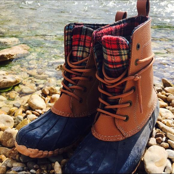 Sporto Shoes Duck Boot Navy Size 7 Womens Poshmark