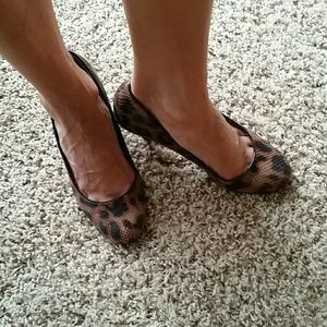 Style &co. Leopard pumps
