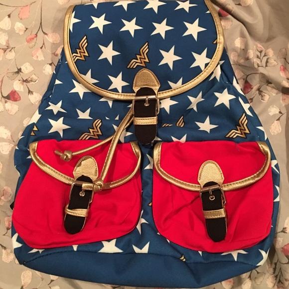 DC Comics Bags   Wonder Woman Backpack   Poshmark b0a375aaed