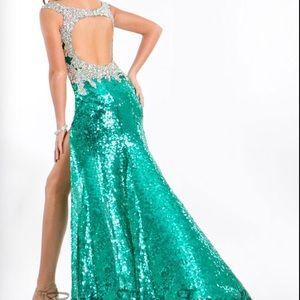 63 Off Sherri Hill Dresses Amp Skirts Rachel Allan Party Time Prima Donna Prom Dress From Dena