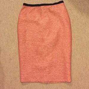Forever 21 peach midi skirt