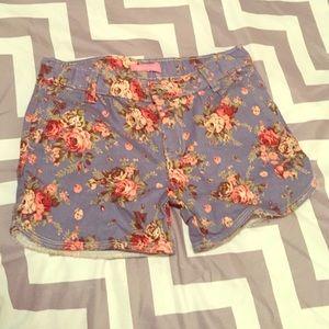 Vintage Rose shorts 
