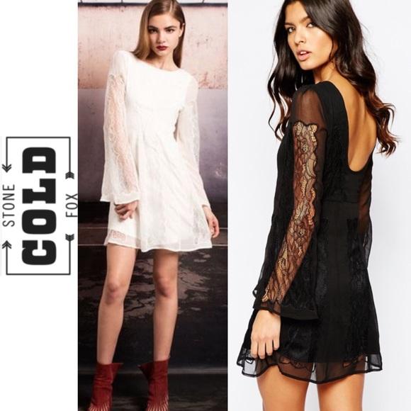 2758c2f9a279 STONE COLD FOX White Duboce Dress. M 56ee0701522b458820013e77