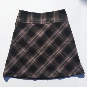 H & M Plaid Skirt