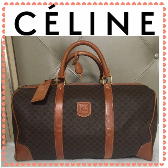 282fc4c4b805 Celine Handbags - Authentic Celine Macadam Travel bag