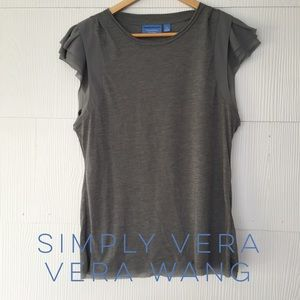 Simply Vera Vera Wang Tops - 🌱SPRING🌱Simply Vera, Vera Wang Capped Sleeve Top