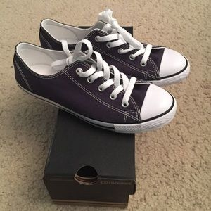 74ea5f730b5d Converse Shoes - NEW Converse Dainty Ox Navy Blue Size 7 Women s