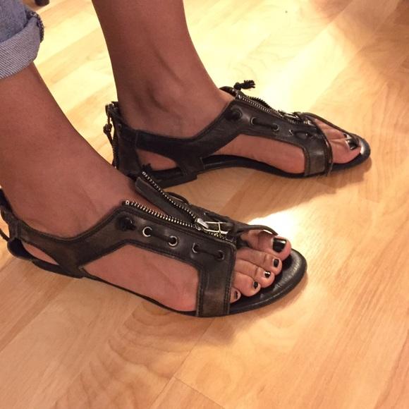 4a978a6fca1d AllSaints Spitalfields Kai Zip Sandals