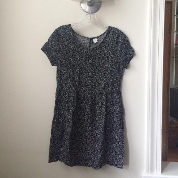 H M Dresses   Skirts - H M Divided floral babydoll dress ... 64ec121ed