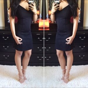 Fitted LBD Little Black Dress