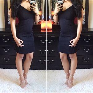 Fitted LBD Little Black Dress