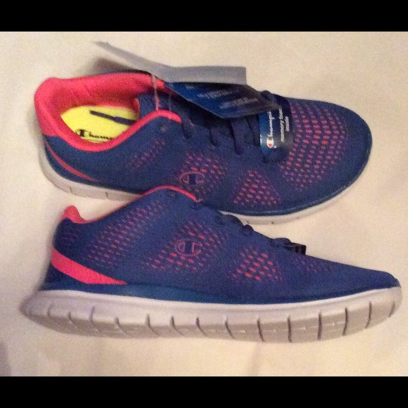 8a5c376004a91 Champion Woman s sneakers size Blue Pink size 6.5