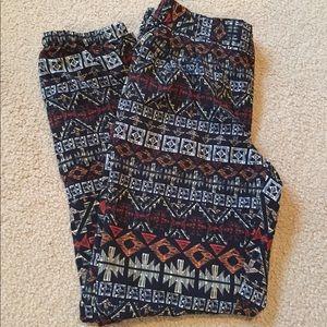 Silky long pants