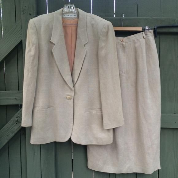 vintage evan picone skirt eBay