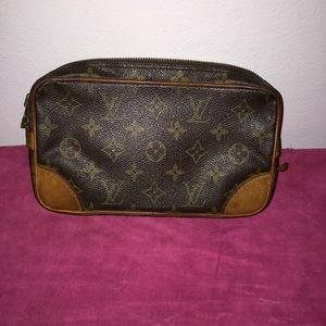 Authentic Vintage LV Pouch