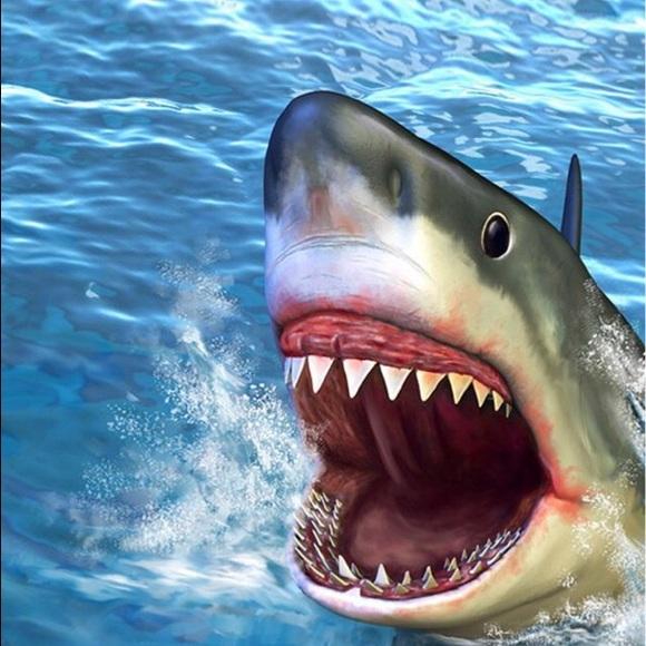 Sharks Georgie Romper