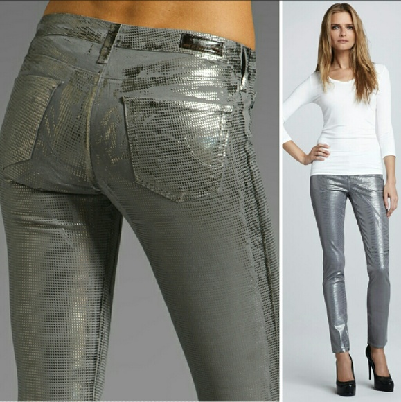 27% off AG Adriano Goldschmied Denim - New AG legging geometric ...