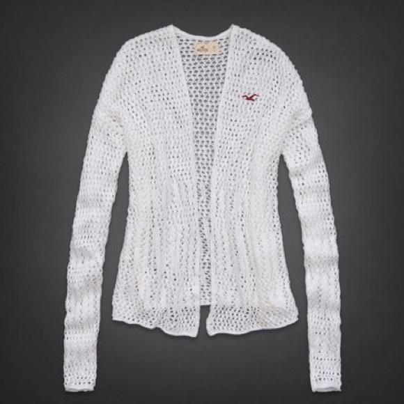 71% off Hollister Sweaters - NWOT Hollister oversize open knit ...
