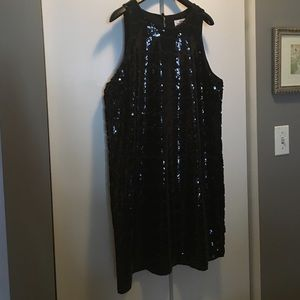 Vineyard Vines Sequin Rope Shift Dress